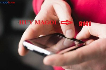 Hướng dẫn cách hủy tin nhắn từ tổng đài 9141 Mobifone