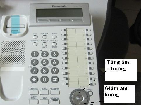 Hướng dẫn cài đặt đồng hồ và ngày giờ trên điện thoại Panasonic KX-T7730