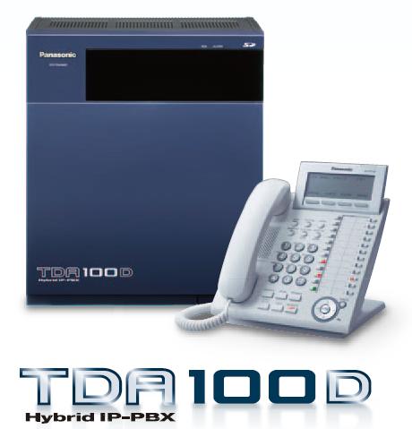 Tổng đài điện thoại Panasonic Kx Tda100