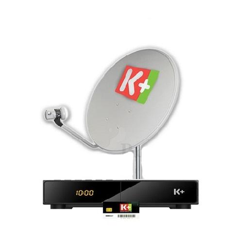 K+ Khuyến Mại đặc biệt giảm 50% cho trọn bộ thiết bị HD