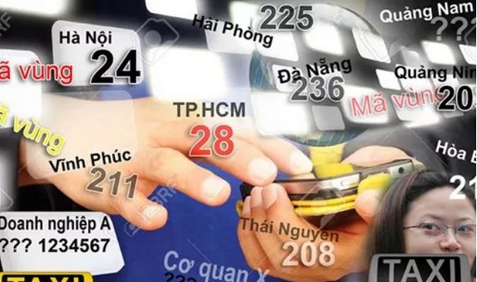 Chính thức thay đổi mã vùng điện thoại cố định từ tháng 2 - 2017