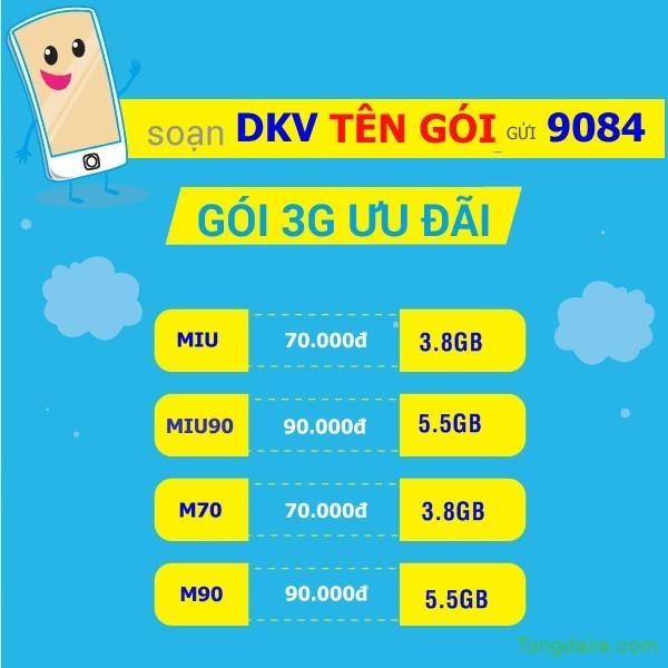 Cách đăng ký 3G Mobifone cho điện thoại mới nhất, rẻ nhất 2018