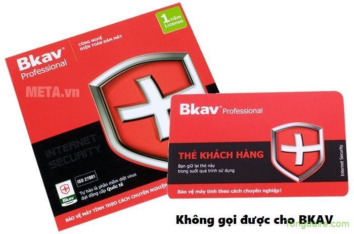 Làm sao để khắc phục hiện tượng không gọi được cho BKAV